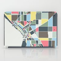 seattle iPad Cases featuring Seattle. by Studio Tesouro