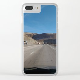 Thru The  Pass Clear iPhone Case