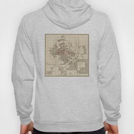 Vintage Map of Butte Montana (1909) Hoody