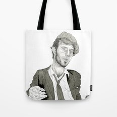 Tom Waits: The Early Years Tote Bag