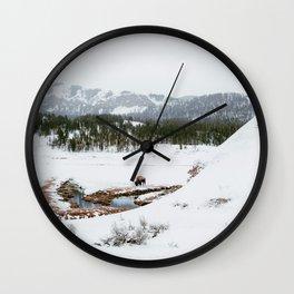 Soda Butte Wall Clock
