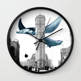 The Invasion Wall Clock
