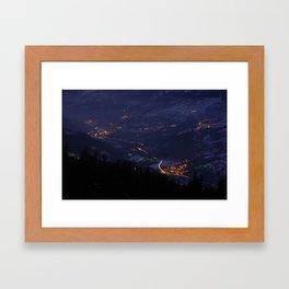Samedi Framed Art Print