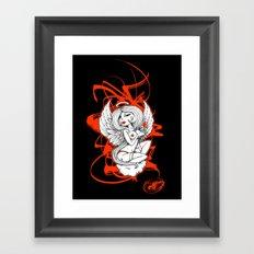 Angel Lust Framed Art Print