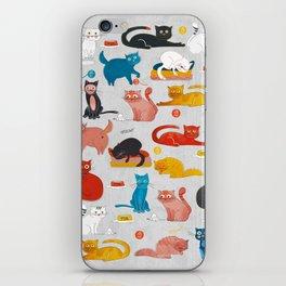 Playful Cats iPhone Skin