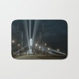 Why Do Rockets Launch At Night Bath Mat