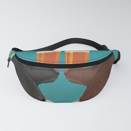 POODLE Dog Beer Brewery Fanny Pack