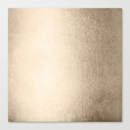 White Gold Sands Canvas Print