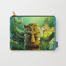 Encounter At The Cove Carry-All Pouch