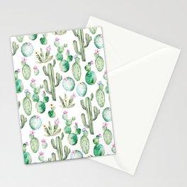 Cactus Summer Garden Stationery Cards