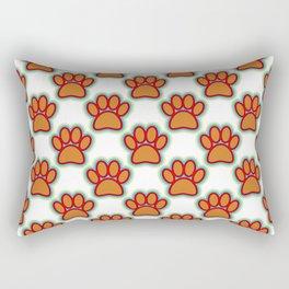 Puppy Paws Rectangular Pillow