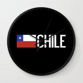Chile: Chilean Flag & Chile Wall Clock