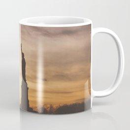 Lady at Sunset Coffee Mug