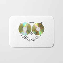 CD Owl Bath Mat