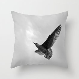 A Seagull Throw Pillow