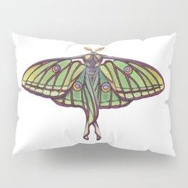 Spanish Moon Moth (Graellsia isabellae) Pillow Sham