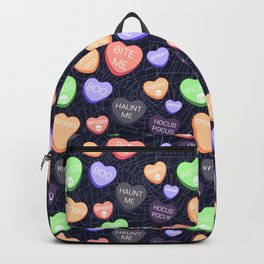 Spooky Conversation Hearts Backpack