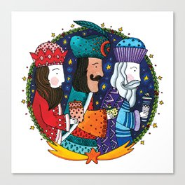 Three Wise Men Canvas Print