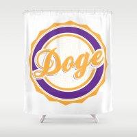 doge Shower Curtains featuring Doge by Tasha-Nova