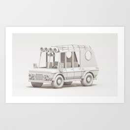 SUV #2 Art Print