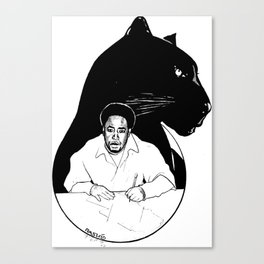 CHAIRMAN SHAKA Canvas Print