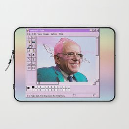 Kawaii Bernie - MS Paint Laptop Sleeve