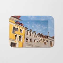 Tenement houses with attic in Lublin Bath Mat
