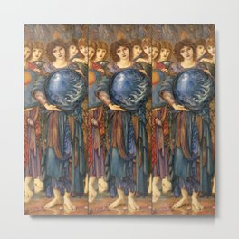 "Edward Burne-Jones ""The Days of Creation - Day 5"" Metal Print"