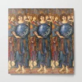 "Edward Burne-Jones ""The Days of Creation - Day 5"" Metal Print"