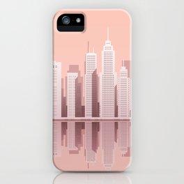 Pink City Manhattan iPhone Case