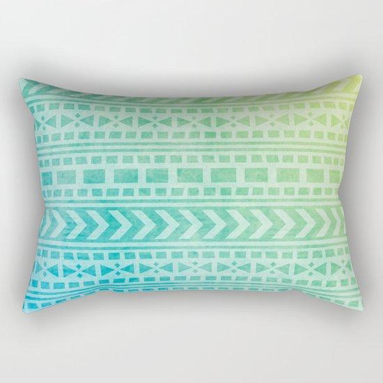 Aztec Pattern 07 Rectangular Pillow