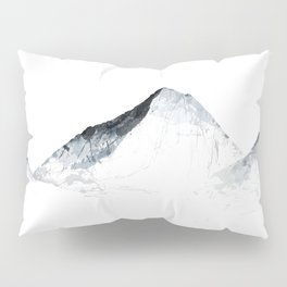 MOUNT EVEREST mountainsplash grey Pillow Sham