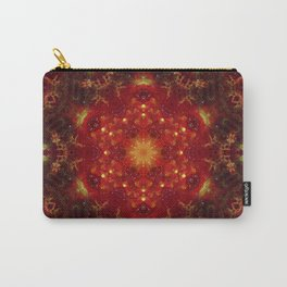 Royal Star Crest Mandala Carry-All Pouch