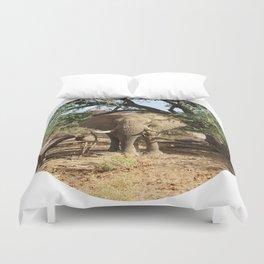 Voortrekker the Elephant Duvet Cover