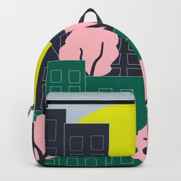 Spring Blooms in the City Backpack