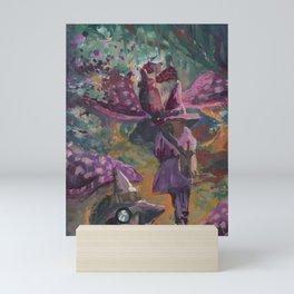 muchroom forest Mini Art Print