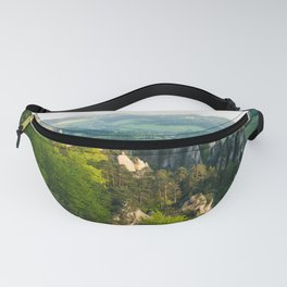Sunny peaks - Landscape and Nature Photography Art Print Art Print Fanny Pack