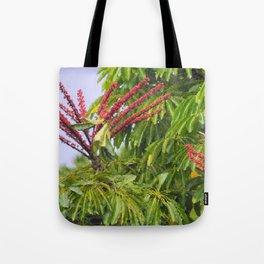 Schefflera in Bloom Tote Bag