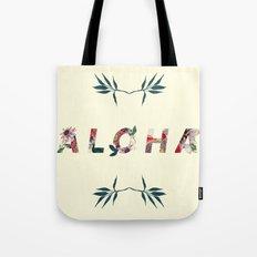 Aloha in Flowers Tote Bag