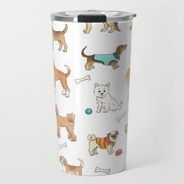 Breeds of Dog Travel Mug