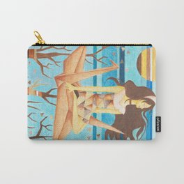 Crane Girl Carry-All Pouch