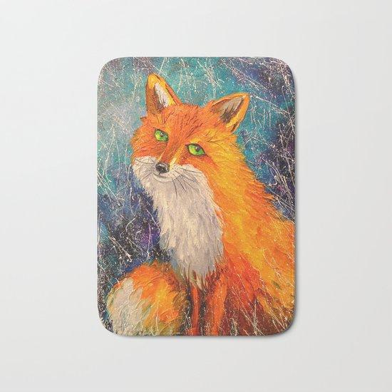 Fox Bath Mat