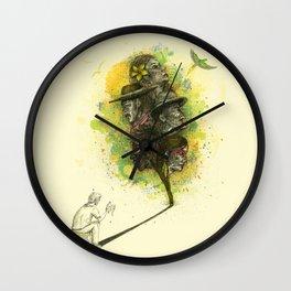 Reflecting Art Wall Clock
