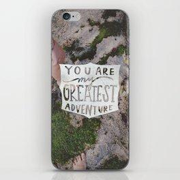 Greatest  Adventure iPhone Skin