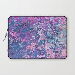 Paint Splatter in Blue Raspberry Laptop Sleeve