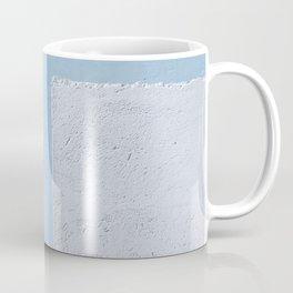 Abstract Blue Wall Shades of Blue Coffee Mug