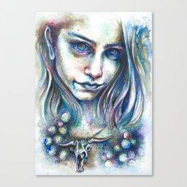 Blueberry Binge Canvas Print