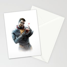 Gordon Freeman and Lamarr Stationery Cards