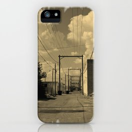ALLEY IN ROSWELL iPhone Case