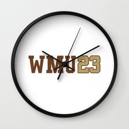 Western Michigan Class of 2023 Wall Clock
